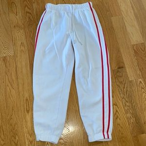 Garage sweat pants size small